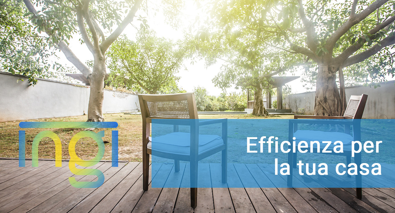 efficienza per la tua casa